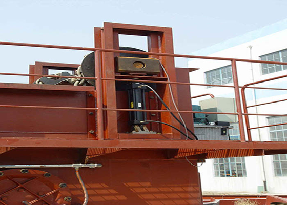 China Tensioning Mechanism For Submerged Scraper Conveyor Manual Adjust Tension Screw supplier