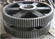 China Paddle Mixer Machine / Dry Powder Mixer Gear Ductile Iron Casting Material factory
