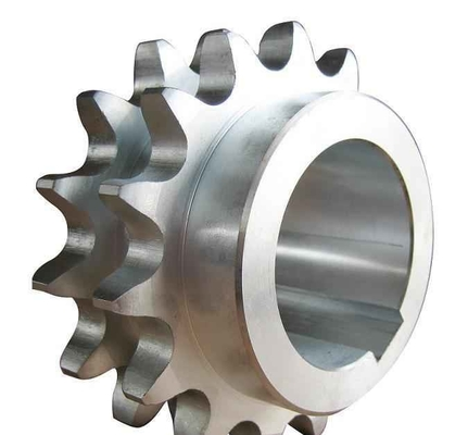 Anti Rust Double Shaft Mixer Drive , Passive Sprocket Normalizing Treatment Processing