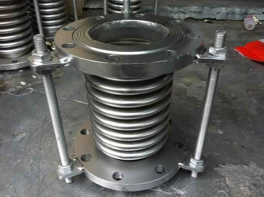High Temperature Resistant Rotary Ash Cooler Corrugated Compensator