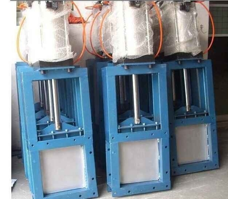 Che Discharge System Pneumatic Quick Closing Valve Gate Q235  Material