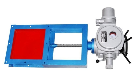 Electric Gate Pneumatic Quick Closing Valve For Grain Materials Flow Transmission Control